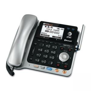 Vtech AT&T TL86109 Cordless Phone with Answering Machine - DECT - 2 x Phone Lines