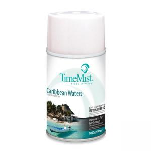 TimeMist Air Freshener Refill - Caribbean Waters 12 / Carton