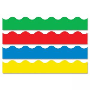 "Trend Solid-Colored Terrific Trimmers - 2.3"" x 156 ft - Assorted"