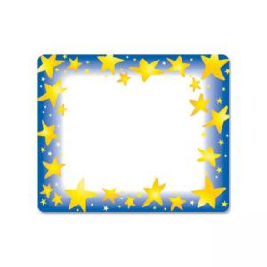 "Trend Star Bright Name Tag - 3"" x 2.50\"" - 36/Pack"
