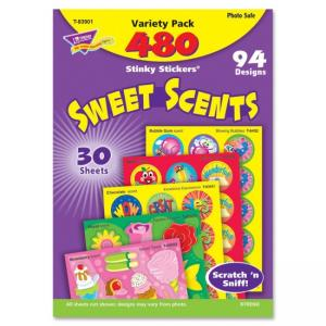 Trend Stinky Stickers T-83901 Sweet Scents Variety Pack - Assorted
