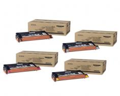 Xerox Phaser 6180 Xerox Phaser 6180 - Toner Cartridges (Black, Cyan, Magenta, Yellow)
